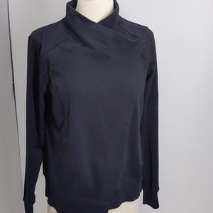 Danskin black cotton knit cardigan-sz S